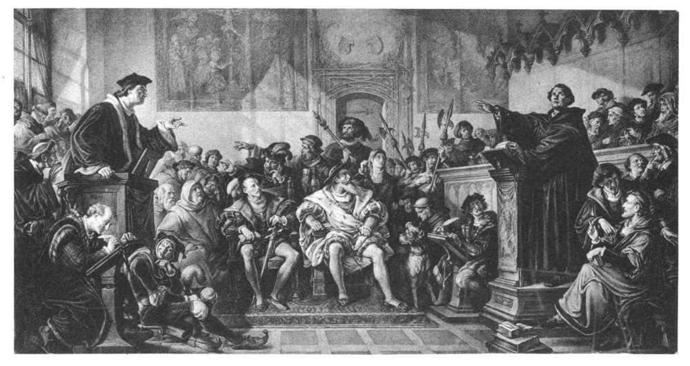 Gelehrte Disputation 1519 über die religion jener tage