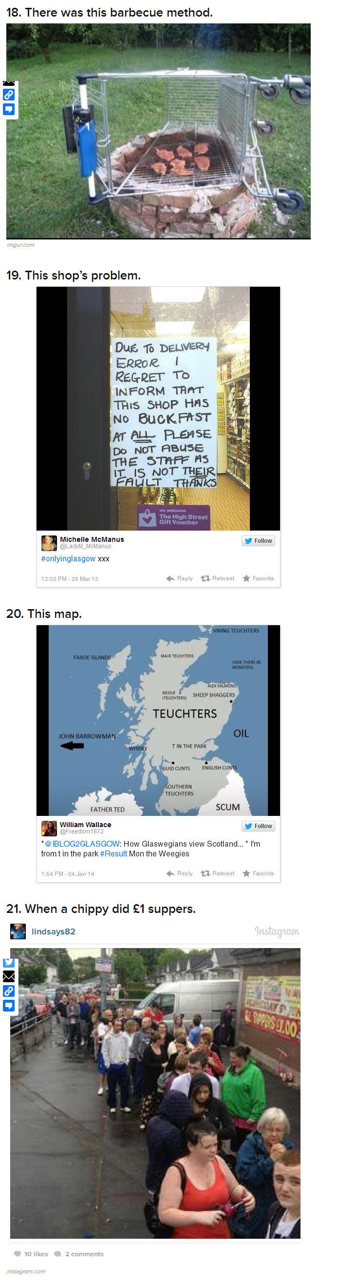 Glasgow Jokes