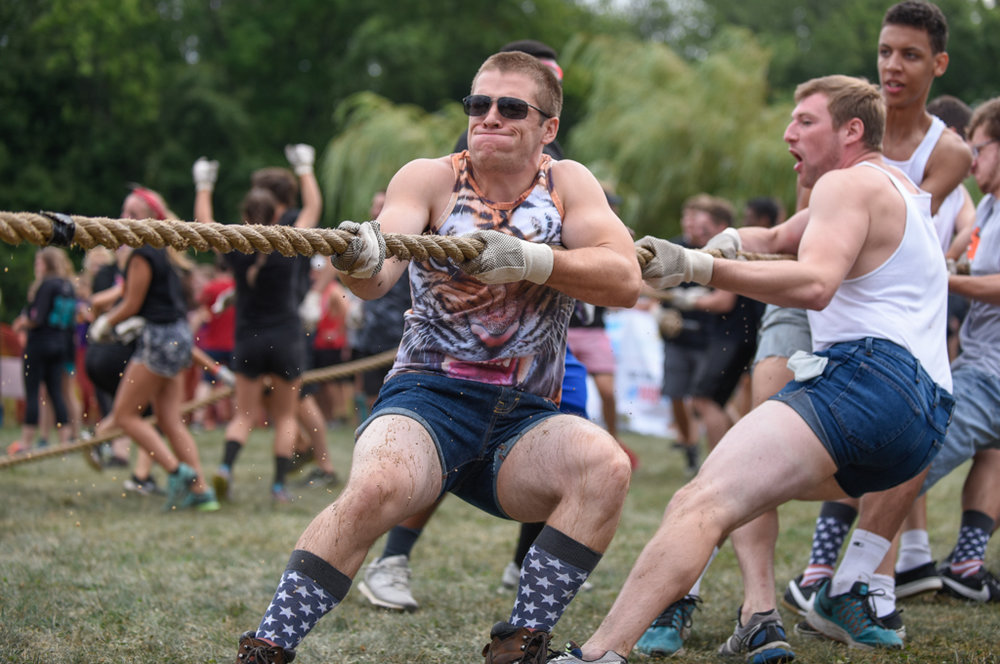 The MudTug is an annual event hosted by RIT's sororities and fraternities.