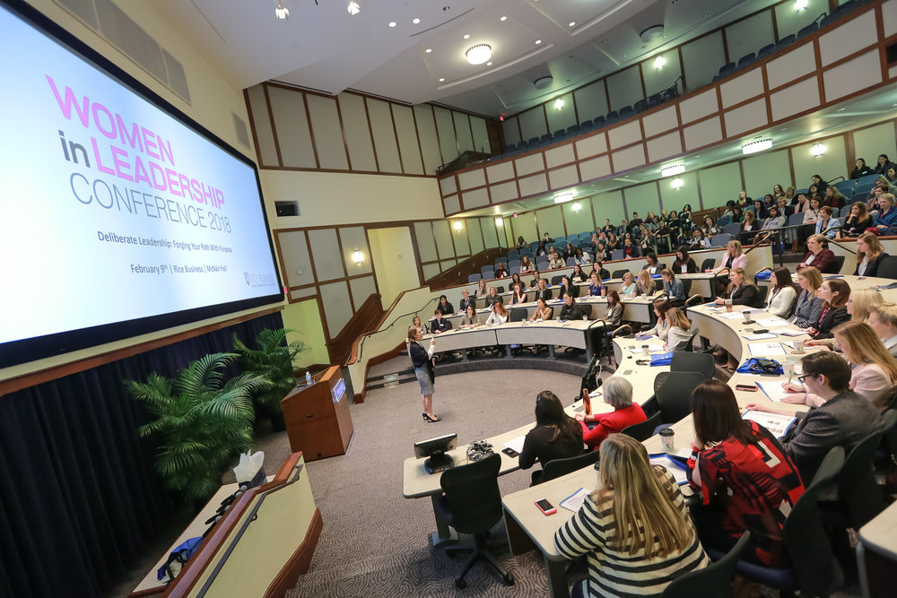 "The 18th annual Women in Leadership Conference at Rice Business was, as Elena puts it, ""the most successful to date."""