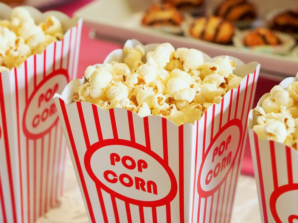 Finals week inspiration:    Set up a pinterest & popcorn event   on your campus.