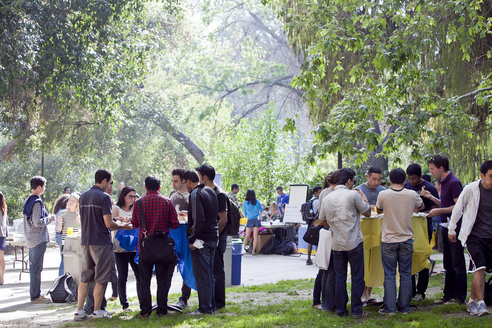 Anderson afternoons have become a popular recurring event on campus, offering students the opportunity to connect with others from different graduate programs.