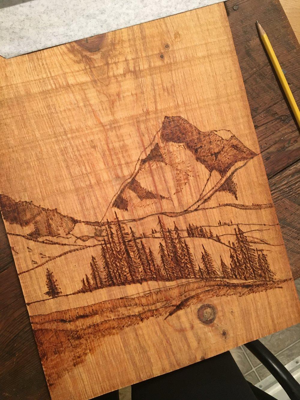 How To Make Woodburning Art Arts Crafts Ideas