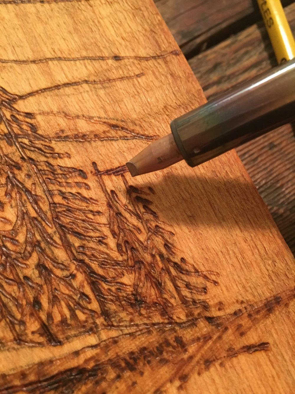 How To Make Woodburning Art Arts Amp Crafts Ideas