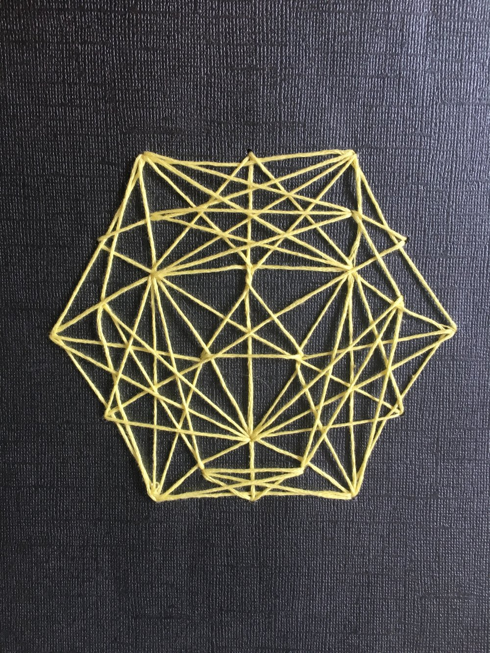 Geometric String Art Arts Crafts Ideas