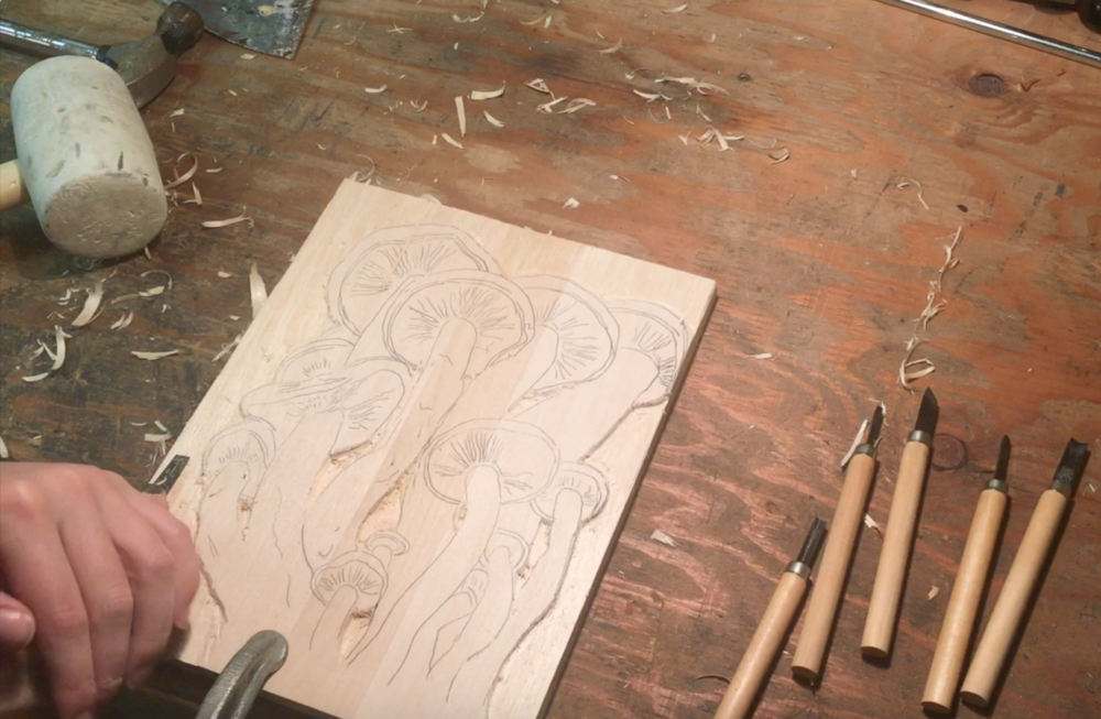 Relief carving definition tools techniques study