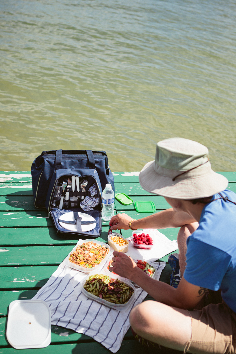 Oh Just A Little Picnic On A Dock Molly Yeh