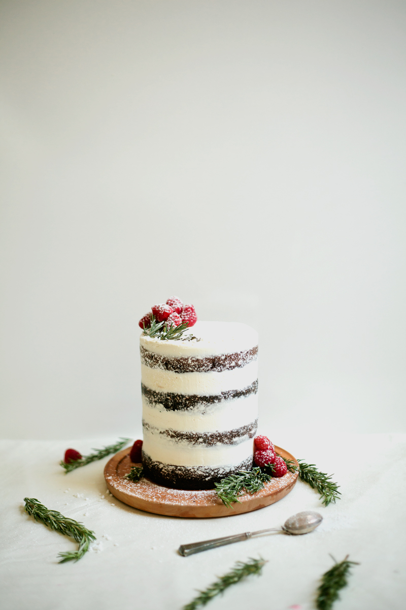 Tahini Chocolate Cake