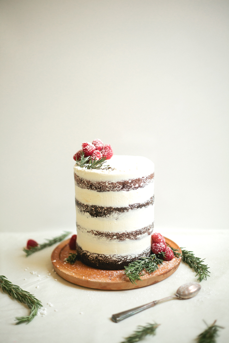 Chocolate Tahini Cake Molly Yeh