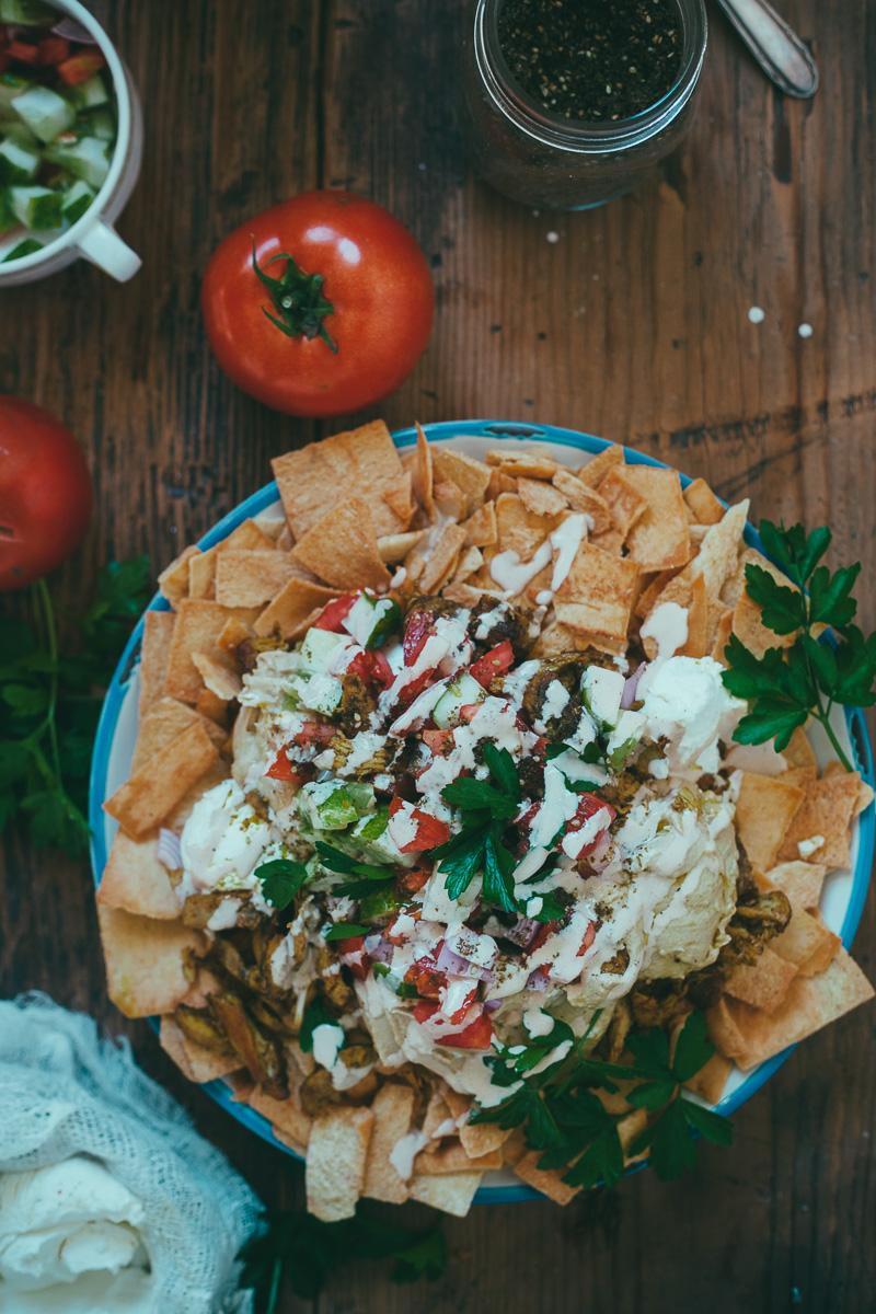 shawarma nachos + friday links — molly yeh
