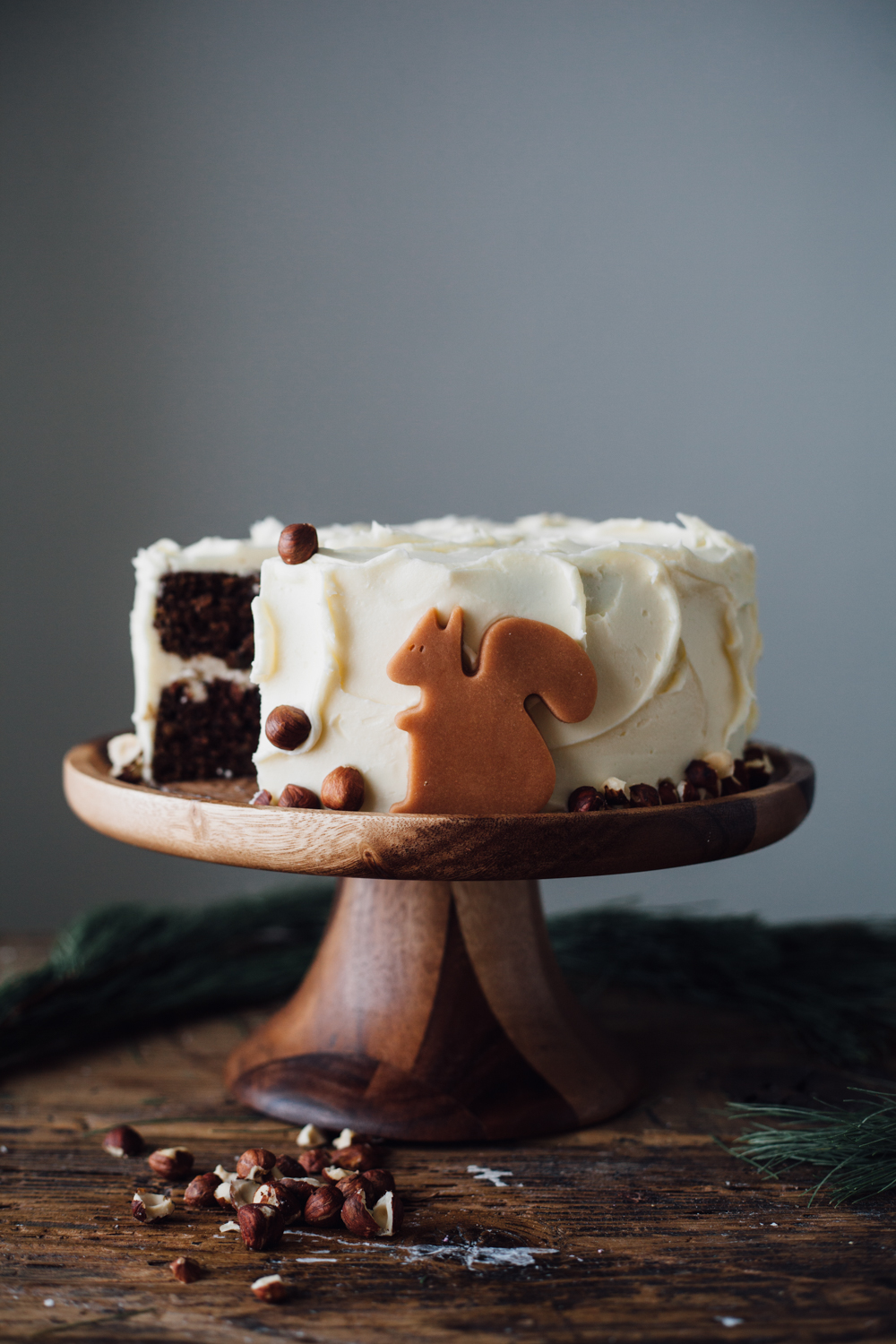 Mile-High Chocolate Cake With Vanilla Buttercream Recipes — Dishmaps