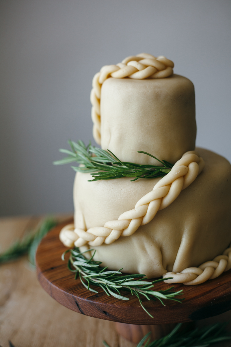 wedding cake marzipan a tiered cake with a lot of tahini and marzipan 23239