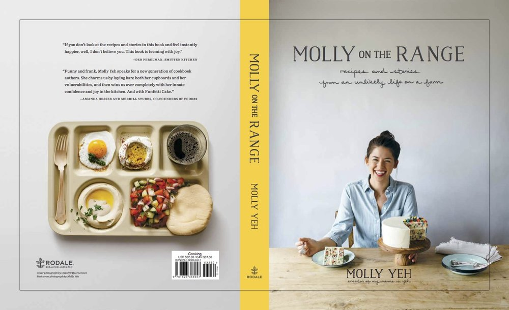 Cook Book Back Cover : Developing the cover of molly on range — yeh