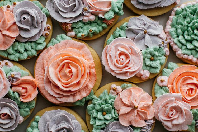rose rose cookies