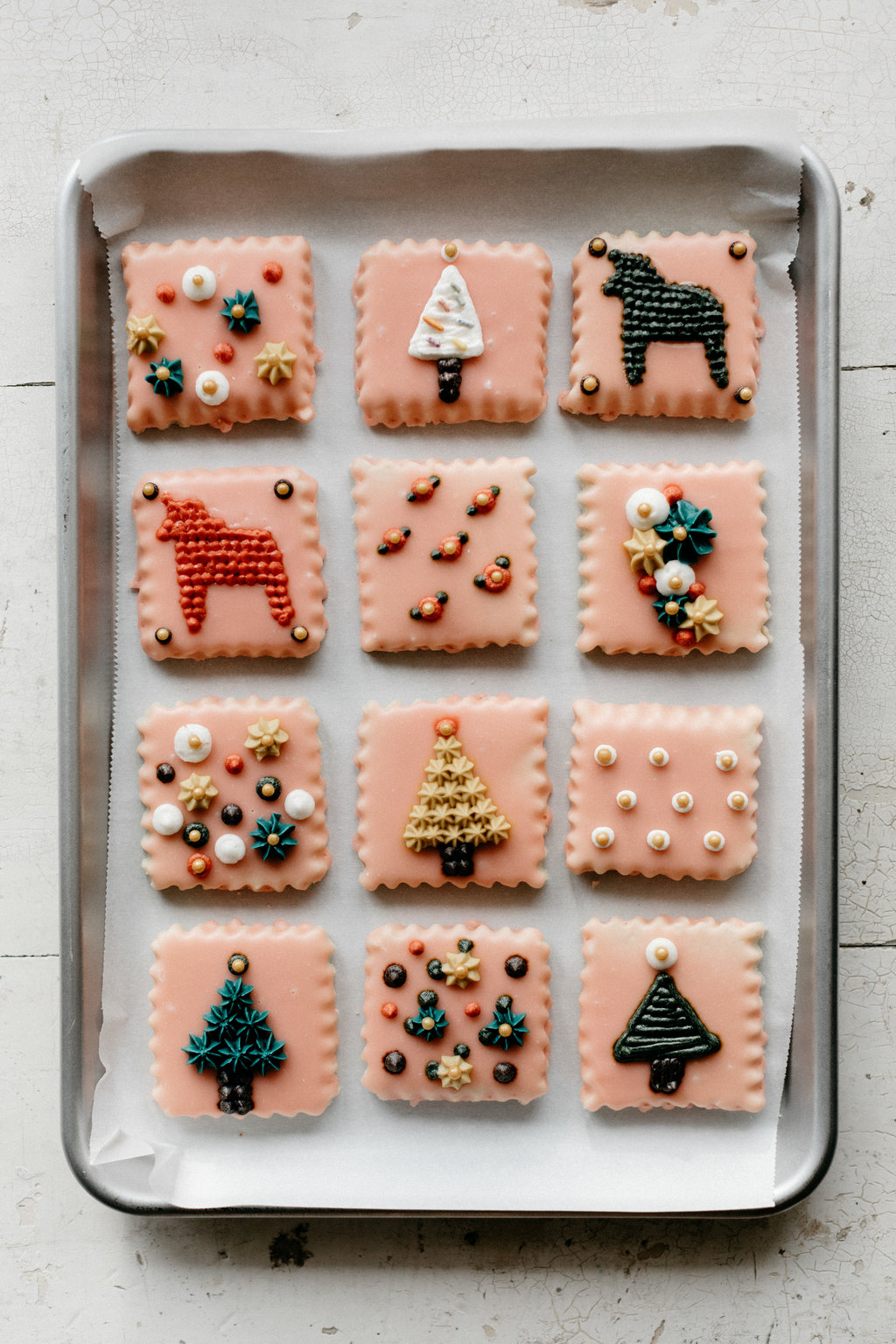 Glazed Sugar Cookies With Buttercream Embroidery Molly Yeh