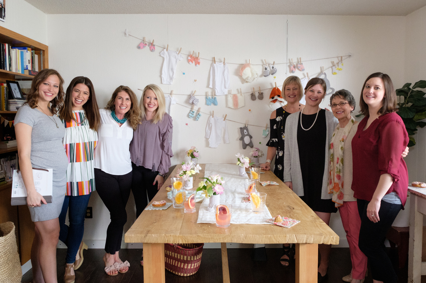 Host Molly Yeh and her guests for her sister-in-law Anna's baby shower.jpg.jpeg