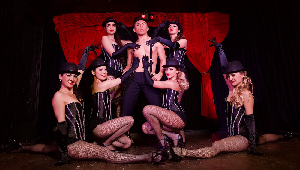 "Looking for the spirit of ""All that Jazz""? Looking for a touch of theatre? Let our cabaret dancers bring a fun  Burlesque  show to your next event! Hire our Moulin Rouge style entertainment, and our dancers are sure to help you cabaret the night away at your next event."