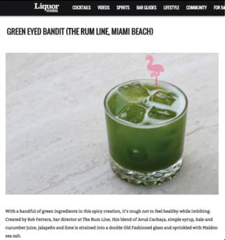 Liquor.com green bandit 2015.png