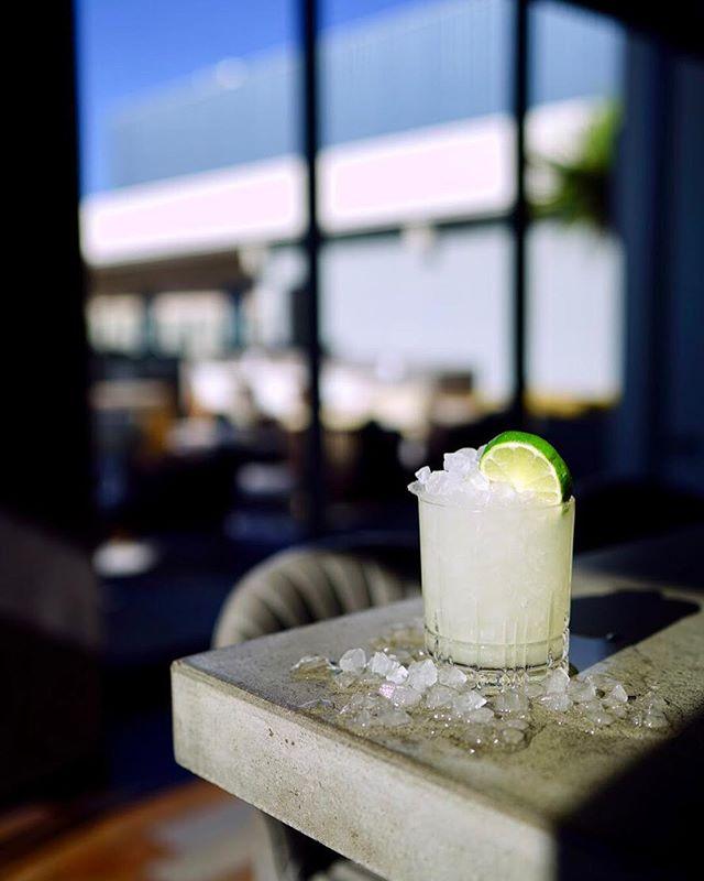 Cocktail of the week: The Maquina Verde at the Kimpton Rowan in Palm Springs California - the combination of Avuá Prata and Mezcal is killer!  1 oz. Avuá Prata cachaça .75 oz. Del Maguey Vida mezcal .25 Ancho Reyes Verde .75 oz. fresh lime juice 1 oz. pineapple cilantro mint jalapeño shrub 4 drops saline solution  Combine all ingredients in tin. Whip, dump over pebble ice and garnish.  Glass: rocks Garnish: lime wheel #thrillofdiscovery