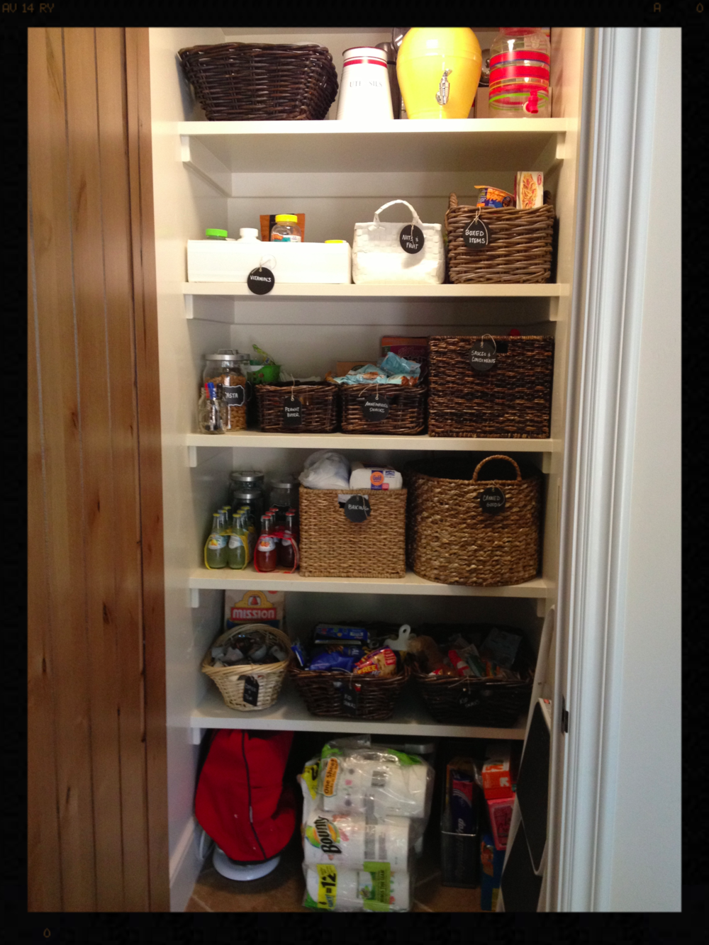 After picture of clients pantry
