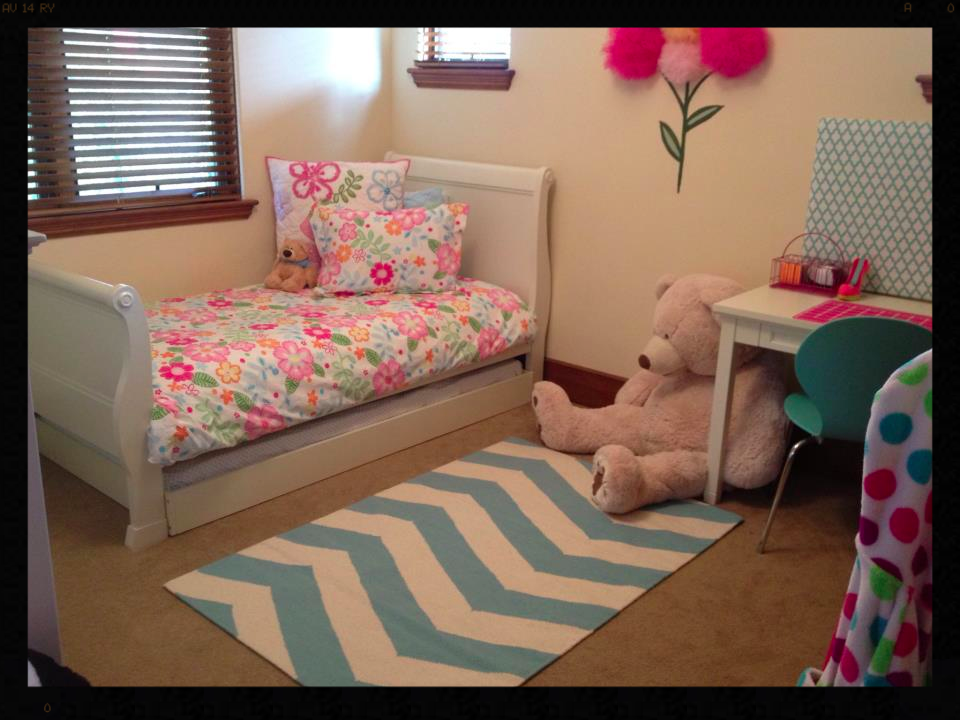 Transformed into a big girls room after