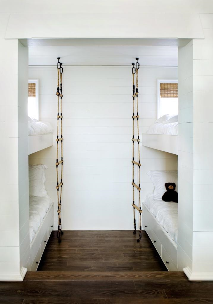 Children's bunk bed ladders