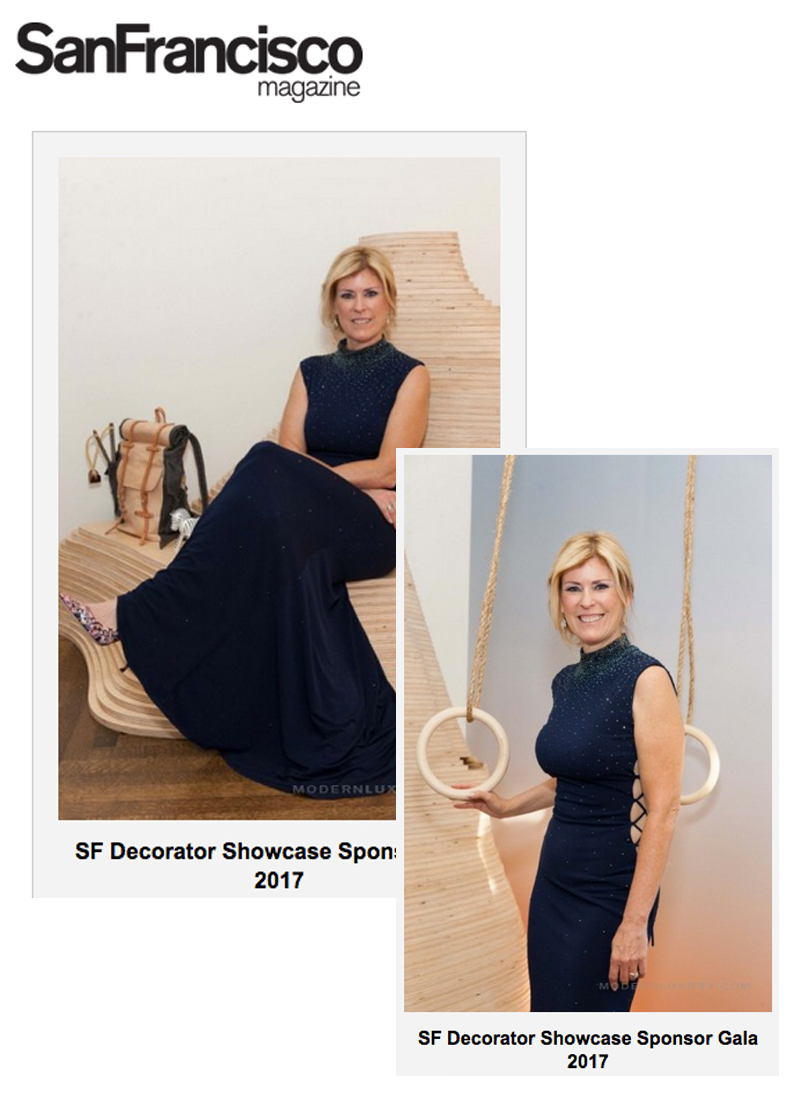 SanFrancisco Magazine - SanFrancisco magazine features Sherry pictured in her space at the SF Decorator Showcase gala event. Link: http://bit.ly/2tfd8UJ