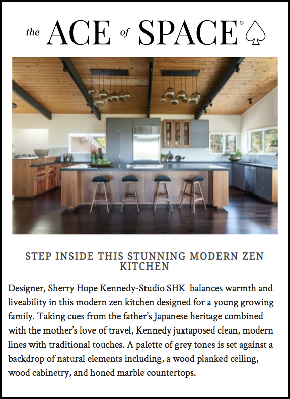 Ace of Space - The Ace of Space steps inside our Modern Zen Kitchen!LINK: https://bit.ly/2qLgMr4