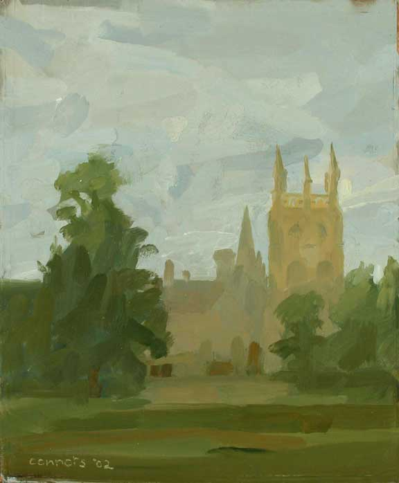 Merton College across Meadow II