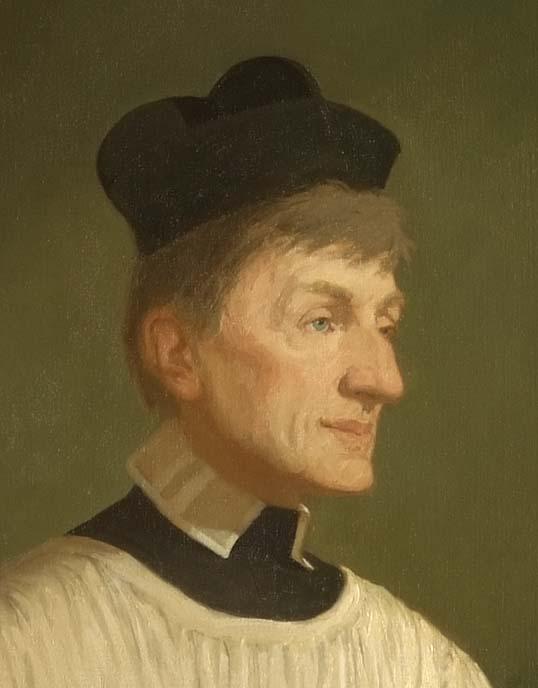 Blessed John Henry Newman, detail