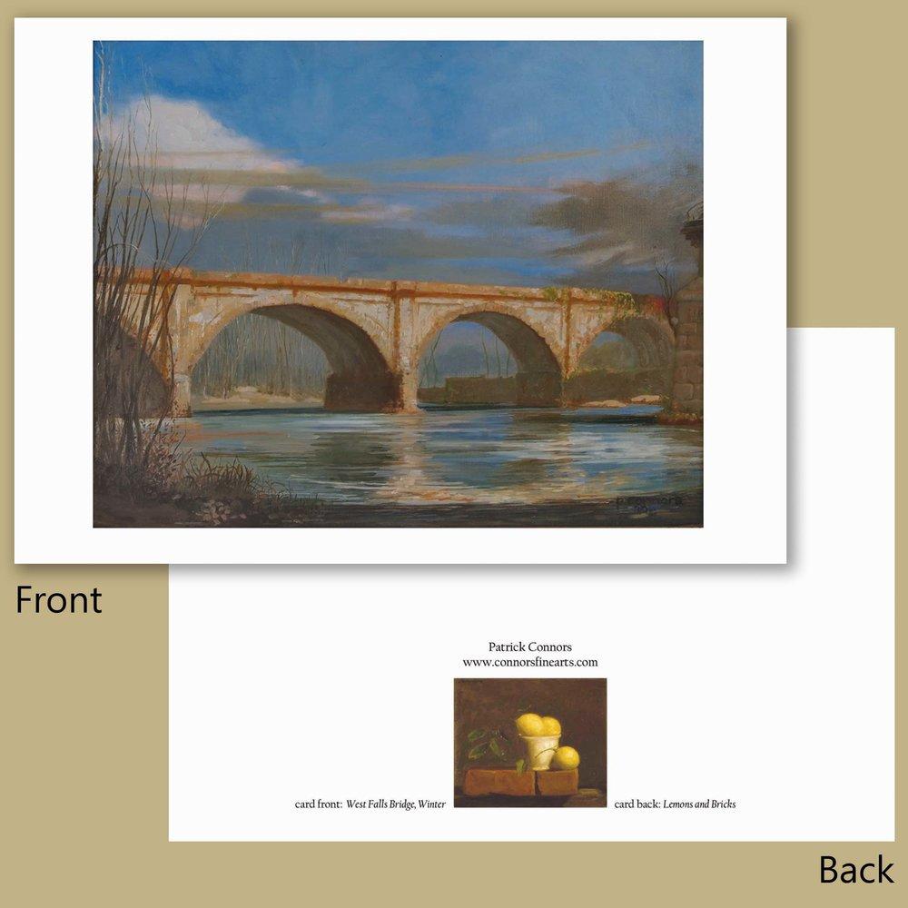 West Falls Bridge, Winter