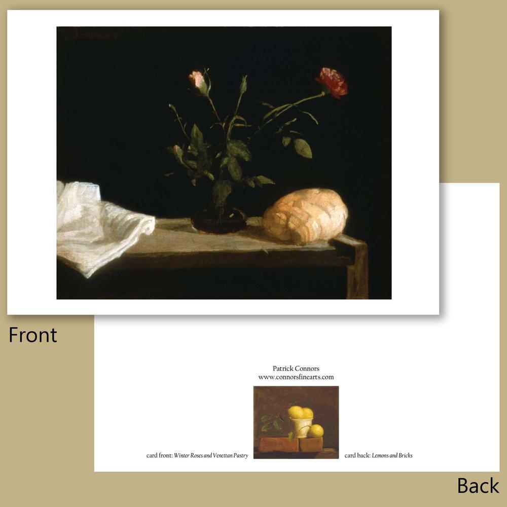 Winter Roses and Venettan Pastry