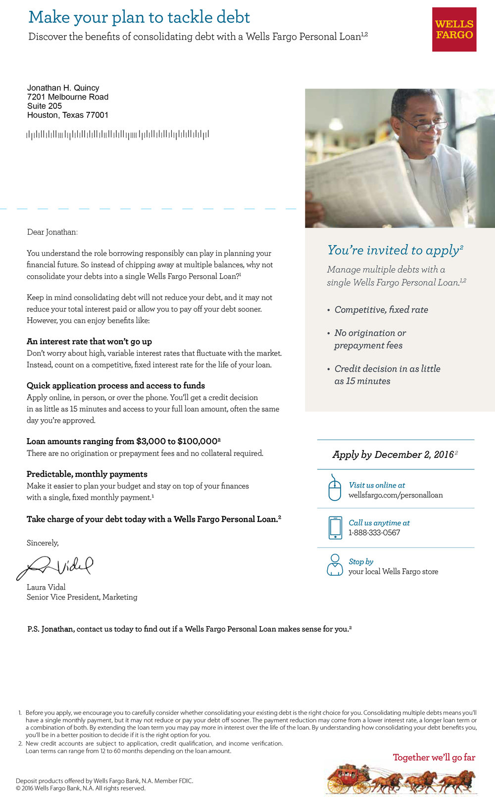 Wells Fargo Direct Mail And Collateral Meghan Rygg