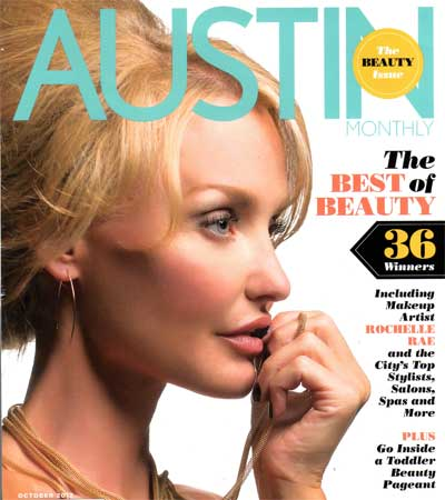 Austin Monthly 2012 Best of Beauty