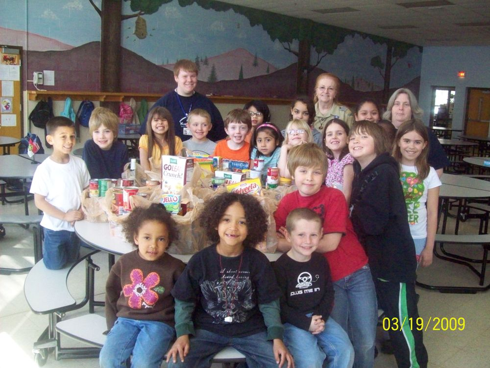 In 2009, these Goshen youngsters held their own food drive which they donated to The Window. Great Job Guys!