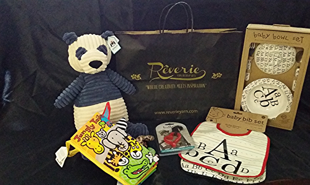 Reverie child's gift bag SOLD Value: $100 Starting Bid: $60