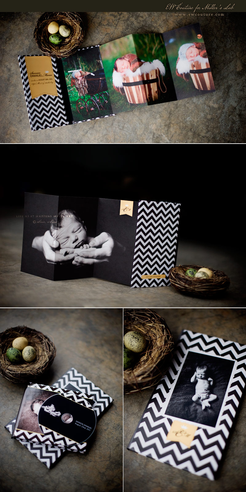 4x8-Accordion-Book-Millers-Baby-Chevron-Love.jpg