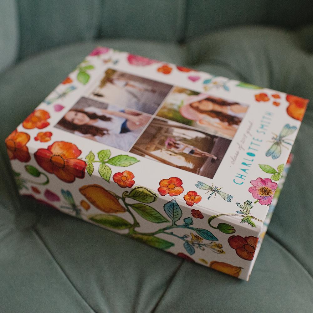 Storybook Illustration Keepsake Box | showcasing the beautiful images of Nicole Eastman Photography