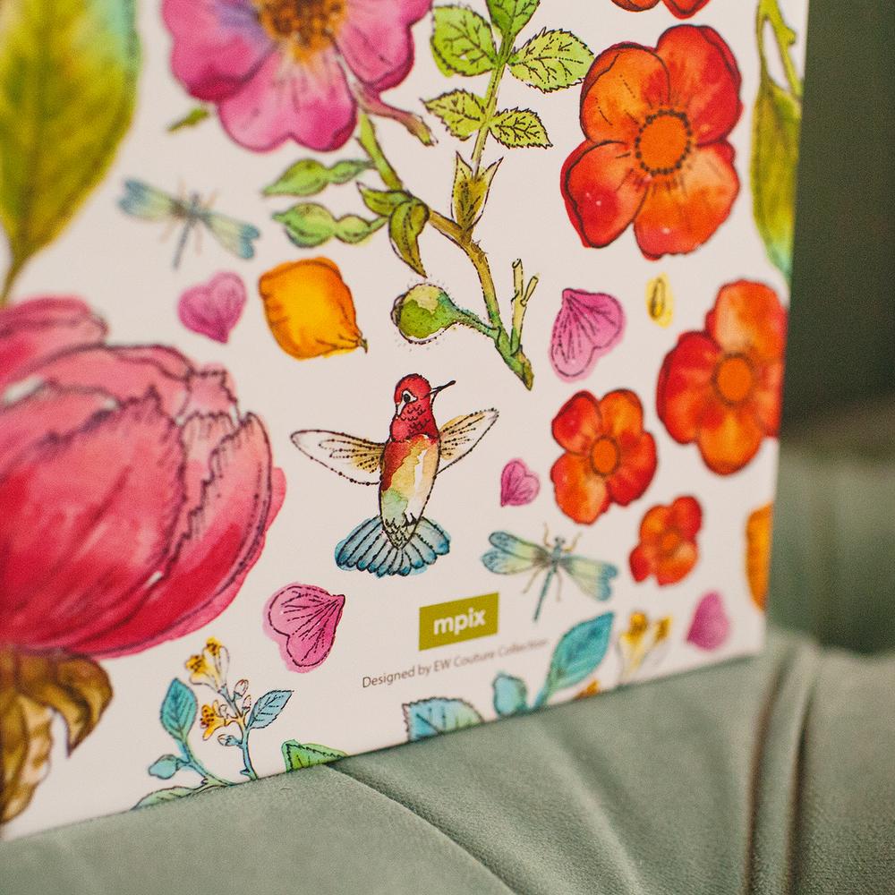 Storybook Illustration Keepsake Box - detail
