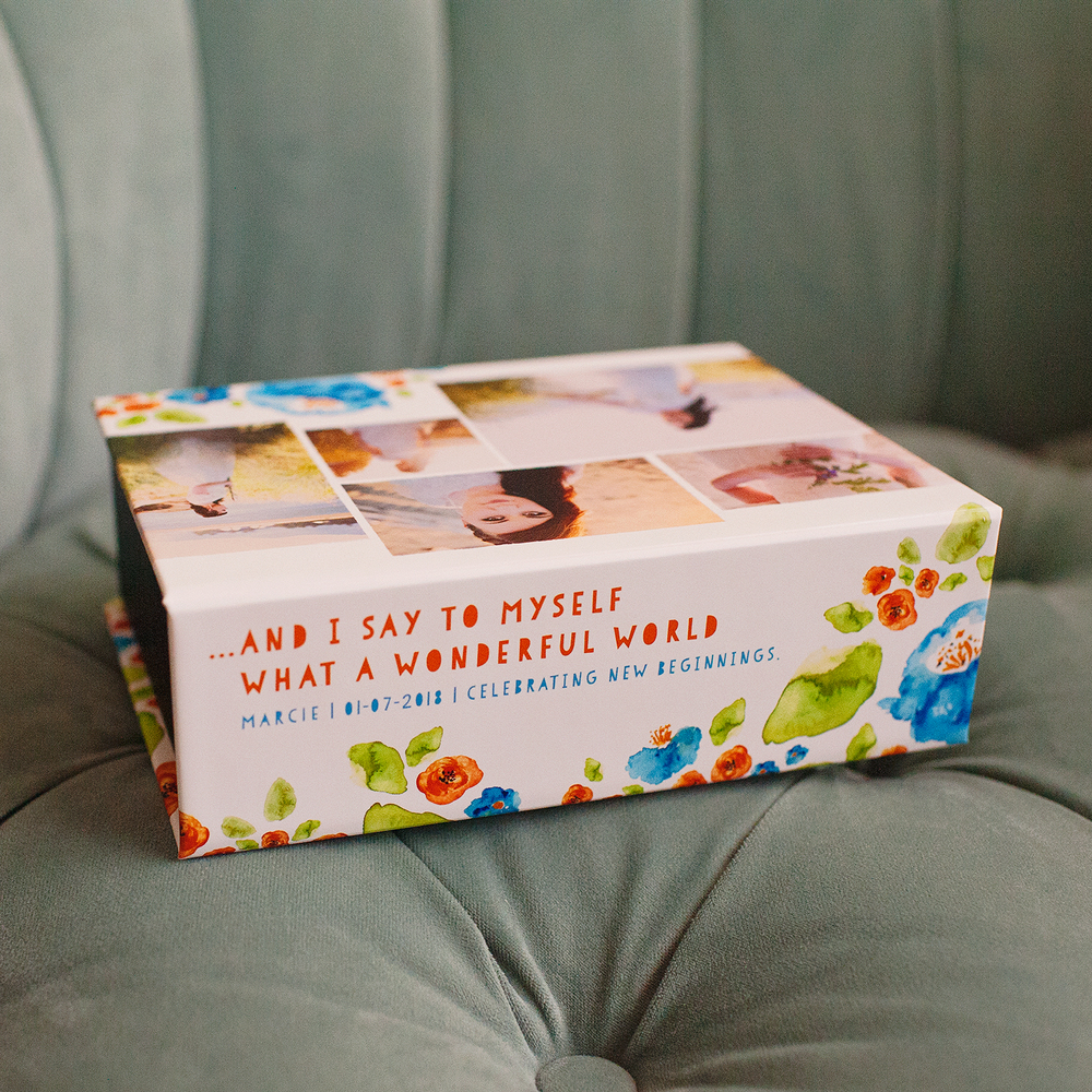 Sweet Louie Keepsake Box | showcasing the beautiful images of Nicole Eastman Photography