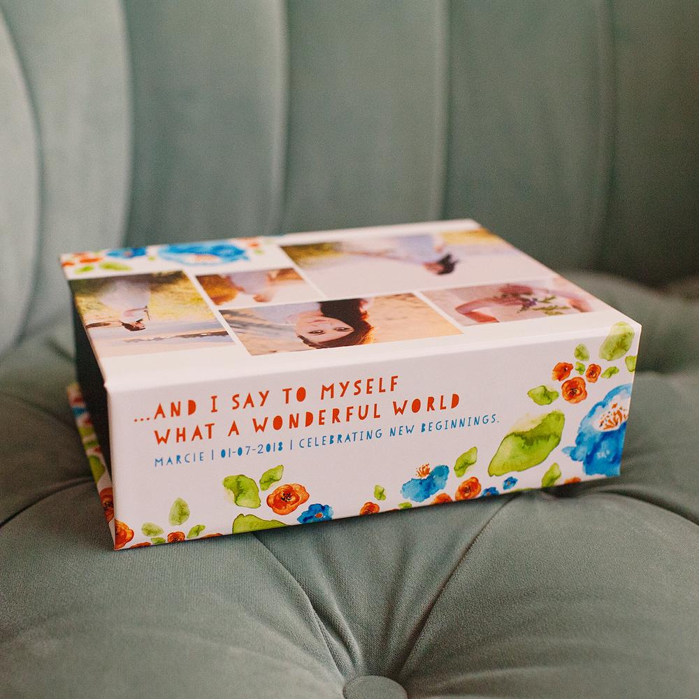 Sweet Louie Keepsake Box | showcasing the beautiful images of Nicole Eastman Photography