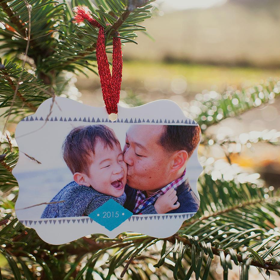 Fab Frame Holiday Ornament
