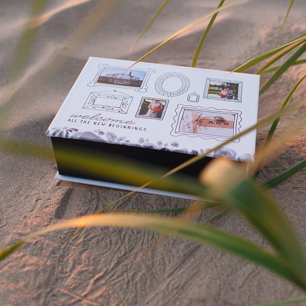 Fresh Beginning Keepsake Box | showcasing the beautiful images of Nicole Eastman Photography