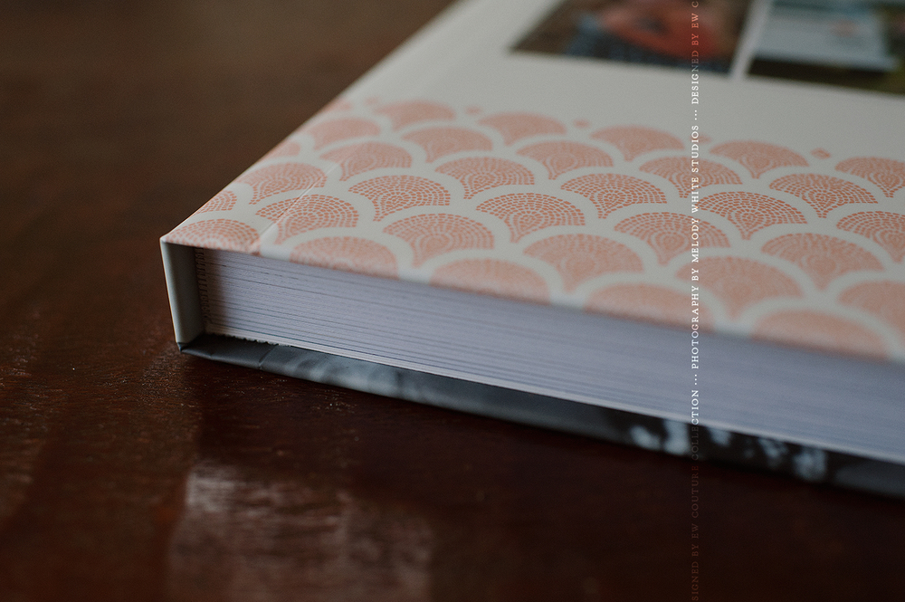Thick pages printed on Deep Matte; the Signature albums come with a choice of Thin or Thick pages on all paper types.