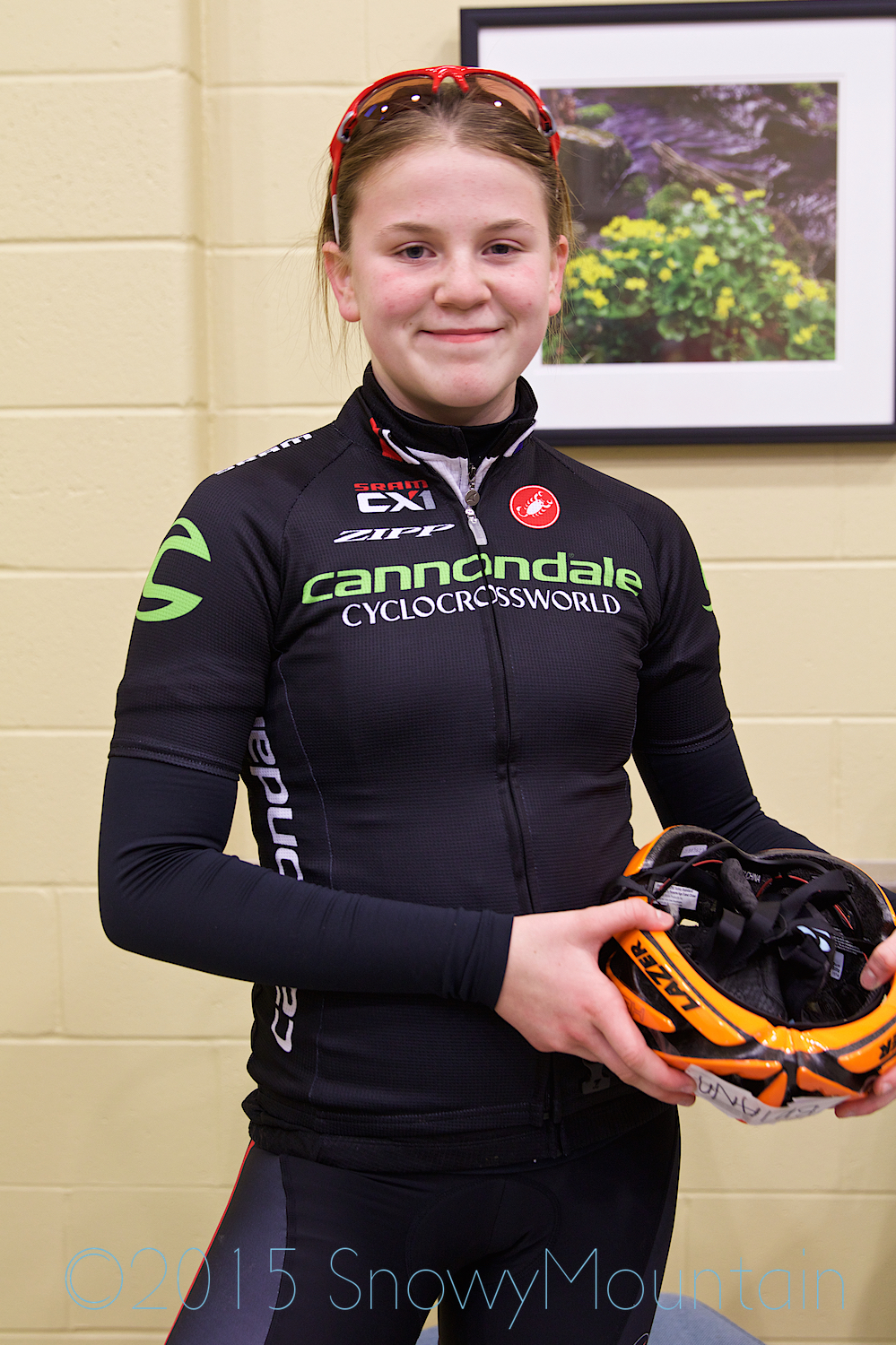 Brianna Urban of ABD Cycling Club went on to win her category the next day.