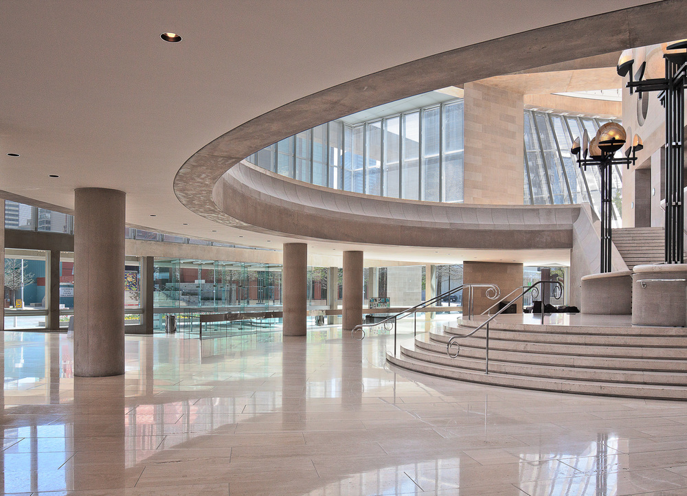 Myerson Symphony Center Lobby