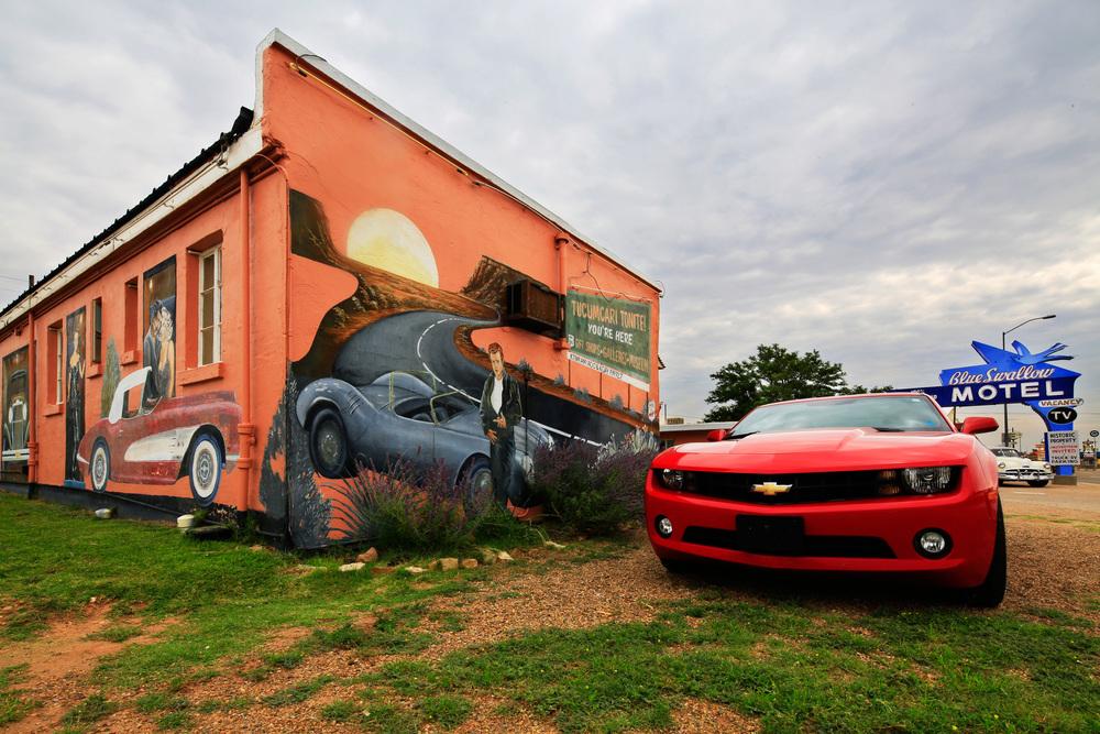Tucumcari Tonite! mural