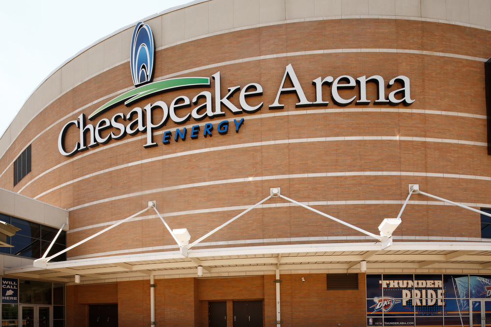 Chesapeake Arena - Home of the Thunder