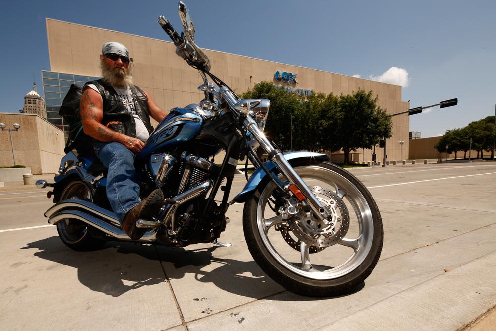James, the Biker