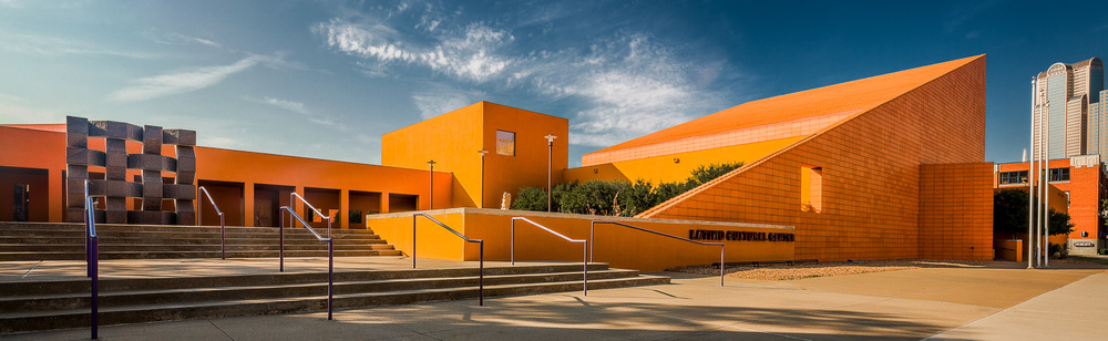 Latino Cultual Center street entrance